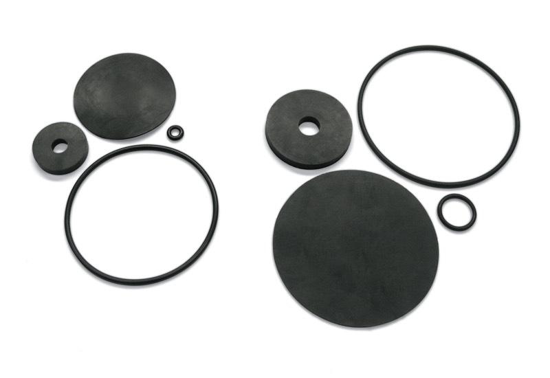 Sealing kit for vacuum reducers