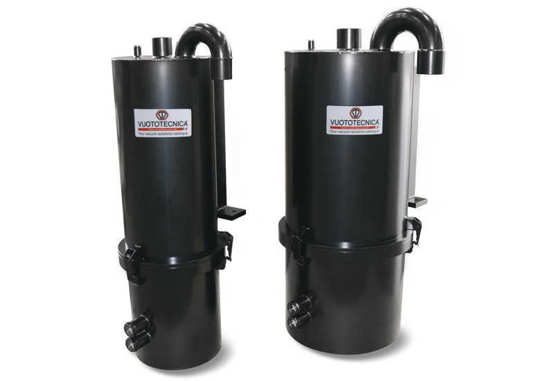 FO long operation autonomy oil-bath suction filters