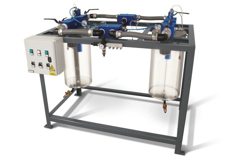 Syphon filter systems with automatic by-pass FS 50 BP and FS 60 BP