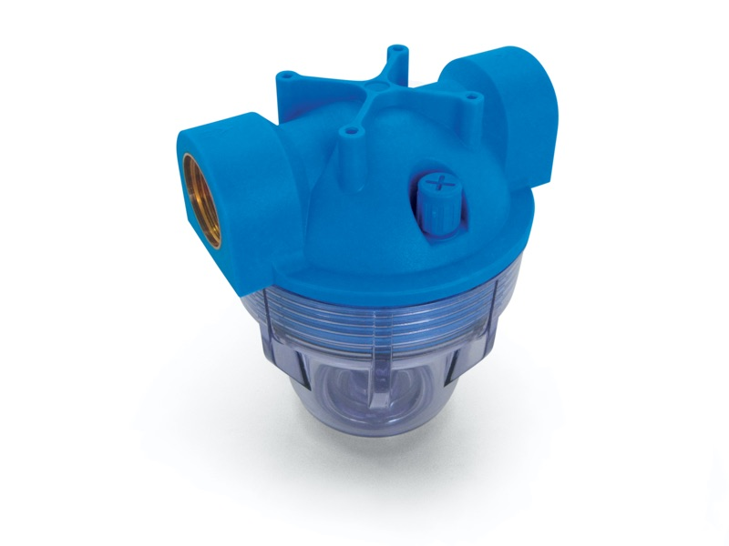 FP series filtering cartridge containers with compression sealing
