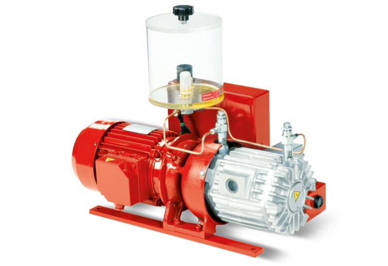Vacuum pumps VTLP 25/FG, 30/FG and 35/FG, with disposable lubrication