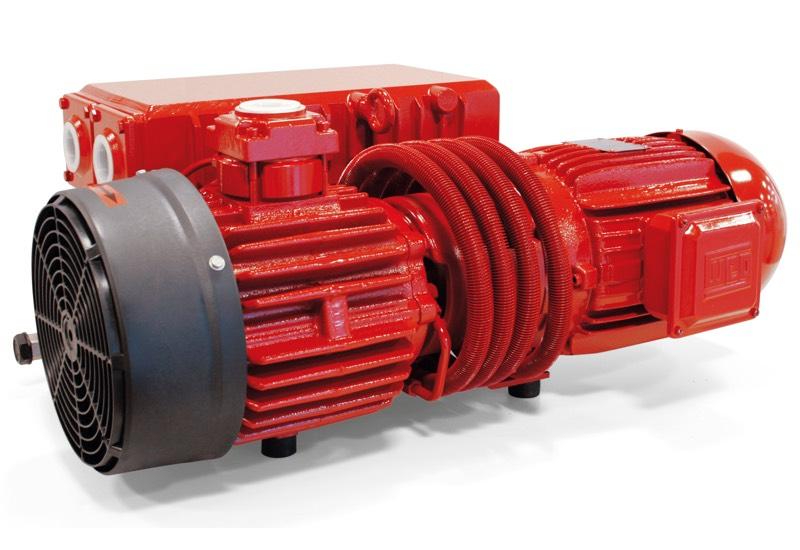 Oil-bath vacuum pump RVP 100