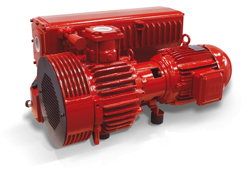Oil-bath vacuum pumps RVP 160 and RVP 200