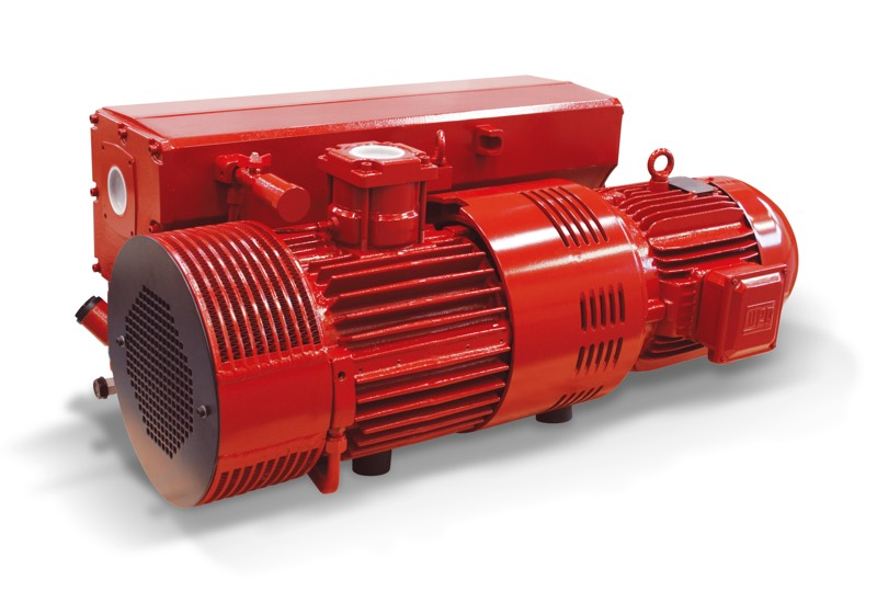 Oil-bath vacuum pumps RVP 250 and RVP 300