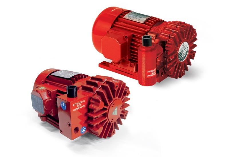 Dry vacuum pumps VTS 6 and 10
