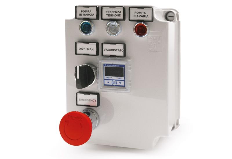 Mini pump set switchgear