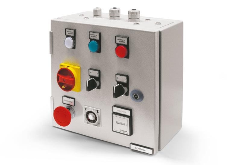 Switchgear for single pump