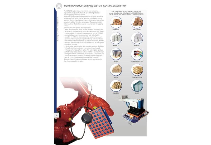 OCTOPUS vacuum gripping system - General description