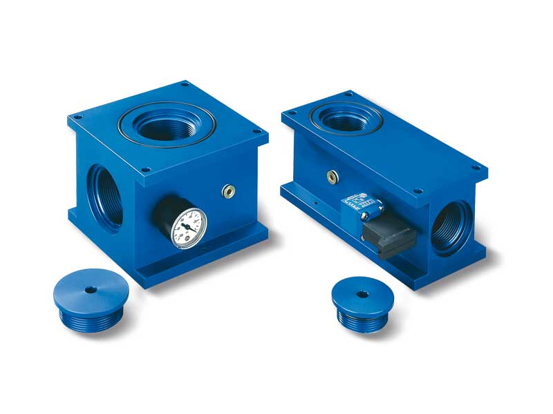 Flange fixing support for OCTOPUS systems without Vacuum generator