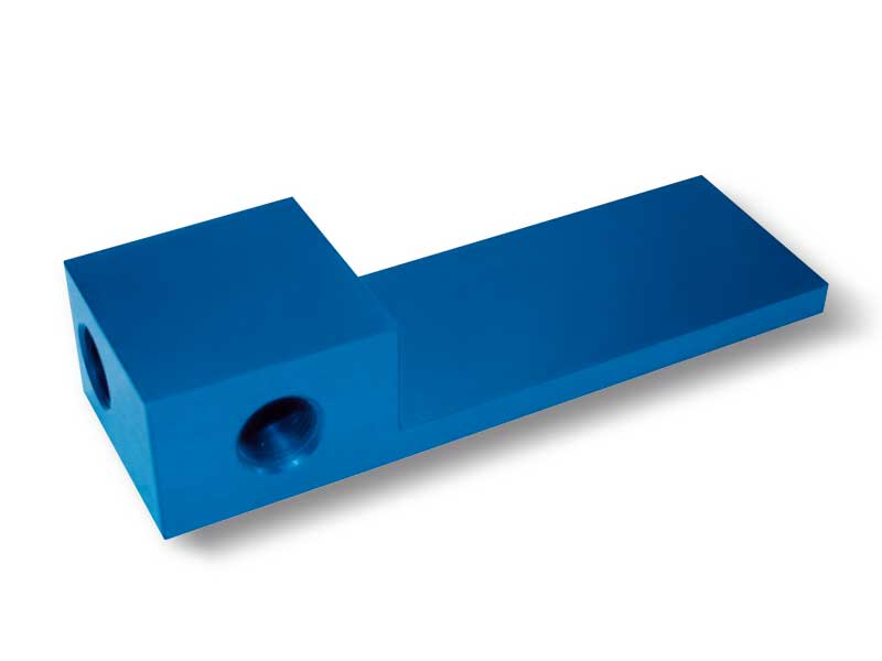Locking plates with distribuotr for OCTOPUS gripping bars without vacuum generator