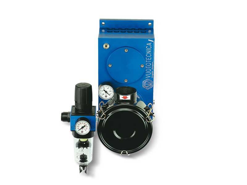 Pneumatic suction pumps PA 140, PA 170 and PA 200