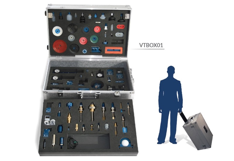 Samples and equipment for demonstration use - Vacuum training box - VTBOX01