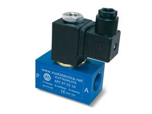 3-way vacuum solenoid valves