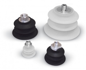 new range of bellow suction cups
